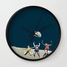 Space Jumpers  Wall Clock