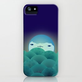 Moonlit Hills iPhone Case