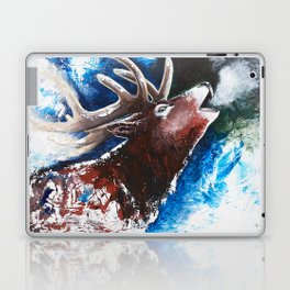 Deer - Valentine - animal by LiliFlore Laptop & iPad Skin