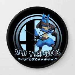 Lucario - Super Smash Bros. Wall Clock