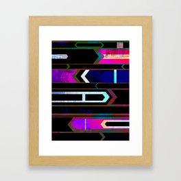 OVERCOMER Framed Art Print