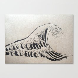 What's in a Wave? Canvas Print