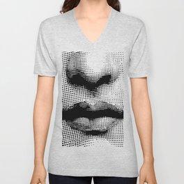 Lina Cavalieri - nose and mouth Unisex V-Neck