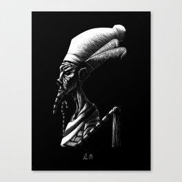 Egyptian Deities: Osiris Canvas Print
