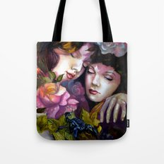 Protection Between Us Tote Bag
