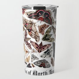 Moths of North America Travel Mug