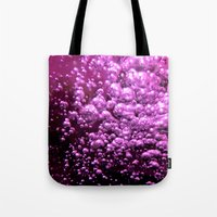 bubble Tote Bags featuring Bubble by Louise Machado