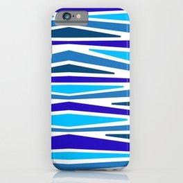 "Blue Berry Stripes""   Stripe Pattern iPhone Case"
