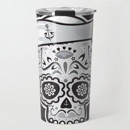 Marinero muerto sugar skull Travel Mug
