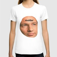 mulder T-shirts featuring Mulder by dogbauu