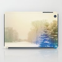 snow iPad Cases featuring Snow by Olivia Joy StClaire