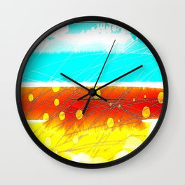 Paradise Beach Wall Clock