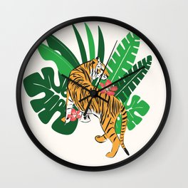 Tiger 010 Wall Clock