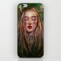 xmas iPhone & iPod Skins featuring Xmas by yen nhi