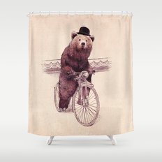 Barnabus (option) Shower Curtain