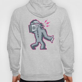 Big Foot with a Boombox Hoody