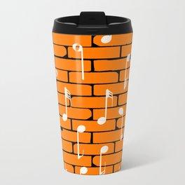 Music Wall Background Travel Mug