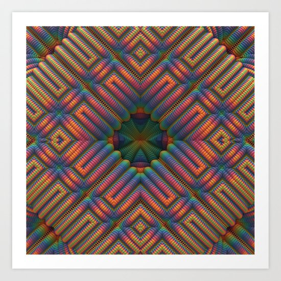 Welcome to My Padded Cell Art Print