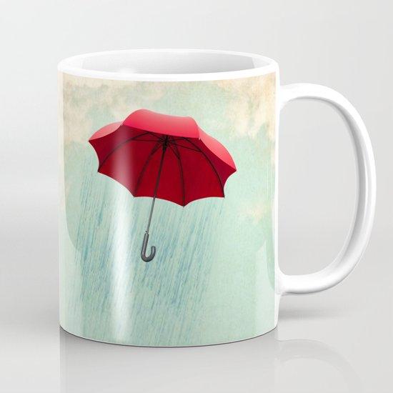 red rain Mug