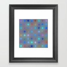 The Flower of Life (Sacred Geometry) pattern 2 Framed Art Print