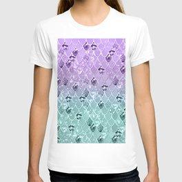 Mermaid Princess Glitter Scales #3 #shiny #pastel #decor #art #society6 T-shirt