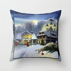 Winter time ... Christmas time Throw Pillow