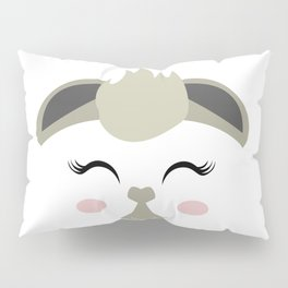 THE LAMA FACE Pillow Sham