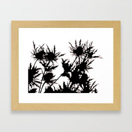 thistle Framed Art Print