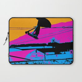 Tail Grabbing High Flying Scooter Laptop Sleeve