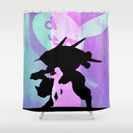 D.Va Poster Print. Shower Curtain