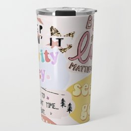 Pink Mood Travel Mug