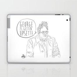 George is Gettin' Upset! Laptop & iPad Skin