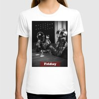 friday T-shirts featuring Friday by T-Hype (julianajace)