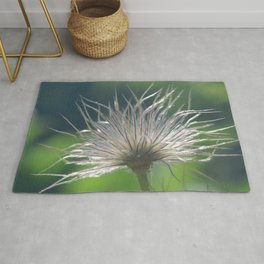 Pasque Flower Rug