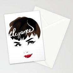 Bombshell Series: Elegance - Audrey Hepburn Stationery Cards
