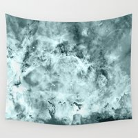 water color Wall Tapestries featuring WateR by 2sweet4words Designs