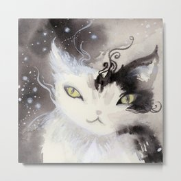 Stardust Pawing the Paradox Metal Print