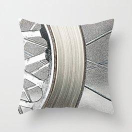 Wheel Throw Pillow