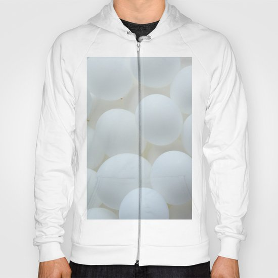 white balloons Hoody