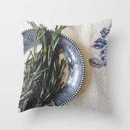 Fresh Rosemary  Throw Pillow