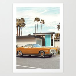 Yosemite Drive Art Print