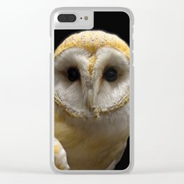 Owl_20180211_by_JAMFoto Clear iPhone Case