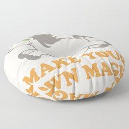 Make Your Own Magic - Pony Turned Unicorn Floor Pillow