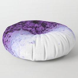 Purple Crystal Ombre Floor Pillow