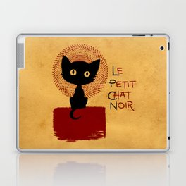 Le Petit Chat Noir Laptop & iPad Skin