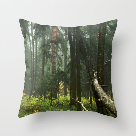 Forest#4 Throw Pillow