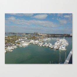 Clearwater Beach,Fl Canvas Print