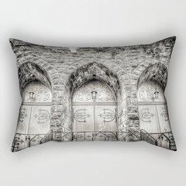 Church Doors, Portland Rectangular Pillow