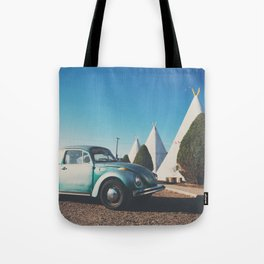 the wigwam motel ... Tote Bag