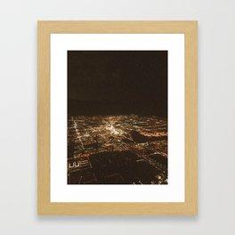 Night Sky Framed Art Print